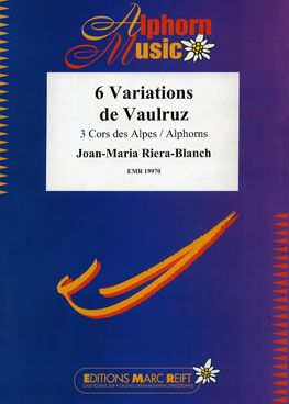 Joan-Maria Riera-Blanch: 6 Variations de Vaulruz