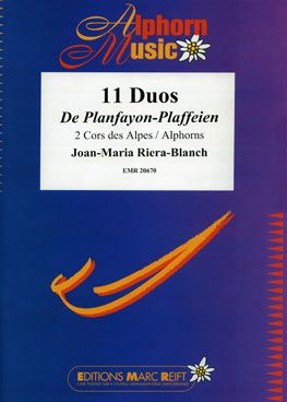 Joan-Maria Riera-Blanch: 11 Duos De Planfayon-Plaffeien