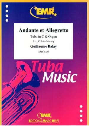 Guillaume Balay: Andante et Allegretto