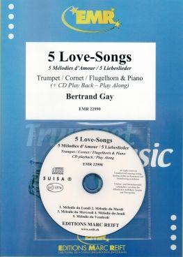 Bertrand Gay: 5 Love-Songs