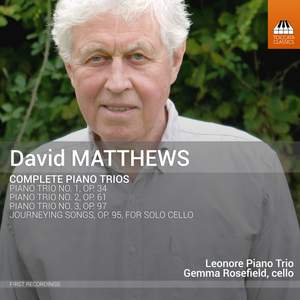 David Matthews: Piano Trios