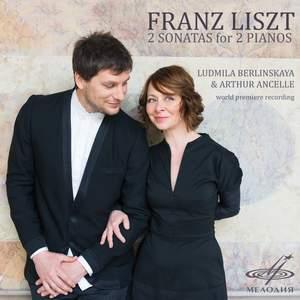 Franz Liszt: 2 Sonatas for 2 Pianos