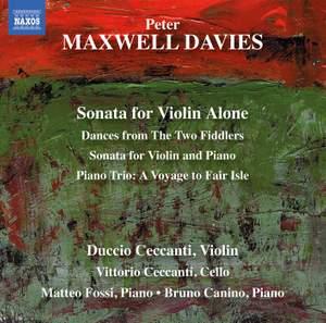 Sir Peter Maxwell Davies: Sonata for Violin Alone