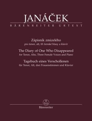 Janácek, Leos: Zápisník zmizelého (The Diary of One Who Disappeared )