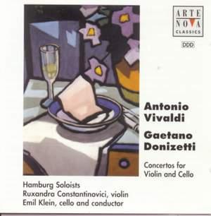 Donizetti/Vivaldi: Double Concertos For Violin And Cello