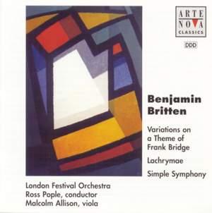 Britten: Simple Symphony Op.1 / Lachrymae Op.48