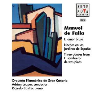 De Falla: Al Amor Bujo, Noches En Los Jardines De Espana, etc.