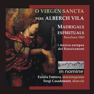 Pere Alberch Vila: Madrigals espirituals