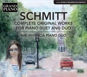 Schmitt: Complete Original Works for Piano Duet and Duo