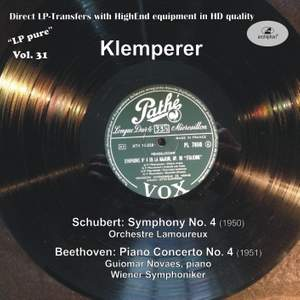 LP Pure, Vol. 31: Klemperer Conducts Schubert & Beethoven (Historical Recordings)
