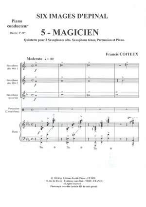 Francis Coiteux: Imagees d'Epinal N° 5: Magicien