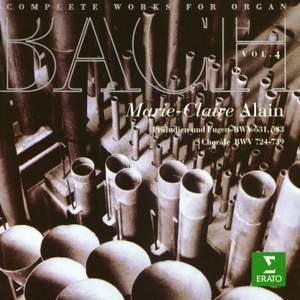 Bach, JS : Complete Organ Works Vol.4