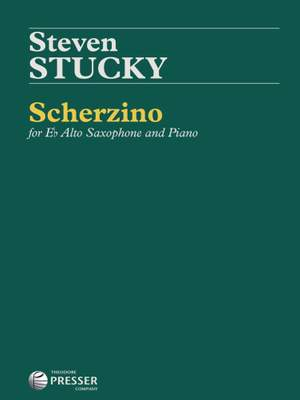 Steven Stucky: Scherzino