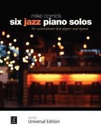 Cornick Mike: Six Jazz Piano Solos