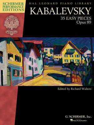 Dmitri Kabalevsky: Kabalevsky - 35 Easy Pieces, Op. 89 for Piano