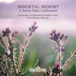 Immortal Memory - A Burns Night Celebration