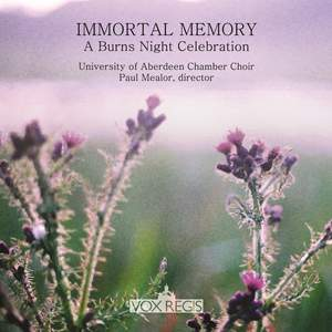 Immortal Memory: A Burns Night Celebration