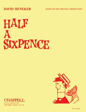 Heneker, David: Half a Sixpence (vocal score) (original)