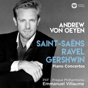 Saint-Saëns, Ravel & Gershwin: Piano Concertos