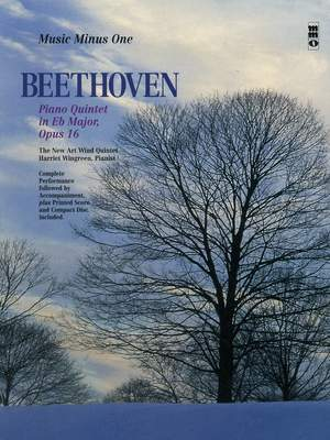 Ludwig van Beethoven: Piano Quintet in E-flat Major, Op. 16 Product Image