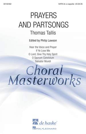 Thomas Tallis: Prayers and Partsongs