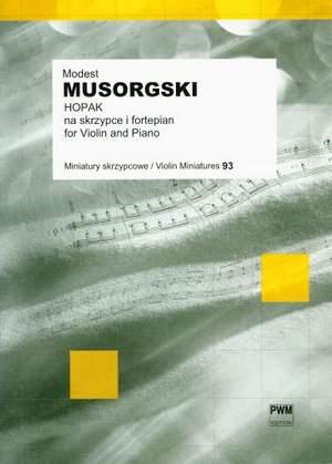 Modest Mussorgsky: Hopak