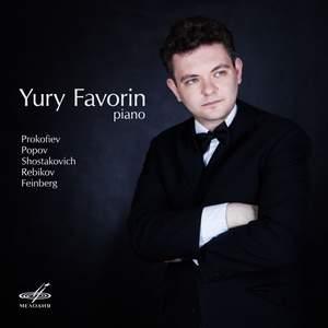 Prokofiev, Popov, Shostakovich, Rebikov, Feinberg: Pieces for Piano