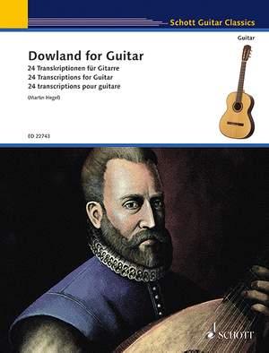 Dowland, J: Dowland for Guitar