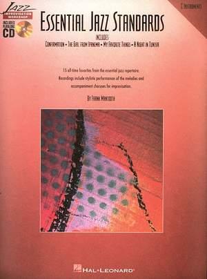 F. Mantooth: Essential Jazz Standards Strumenti In Do