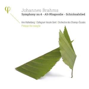 Brahms: Symphony No. 4, Alto Rhapsody & Schicksalslied
