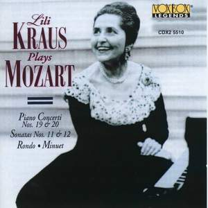 Lili Kraus plays Mozart