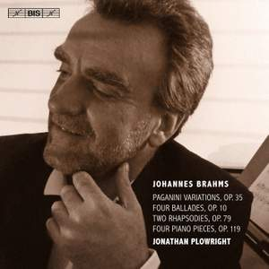 Brahms: Works for Solo Piano Volume 4