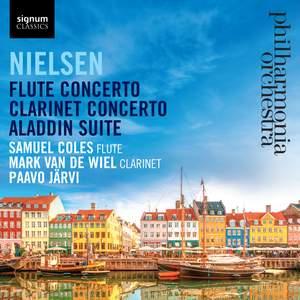 Nielsen: Flute & Clarinet Concertos Product Image