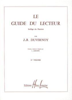 Duvernoy, Jean-Baptiste: Guide du lecteur Vol.1