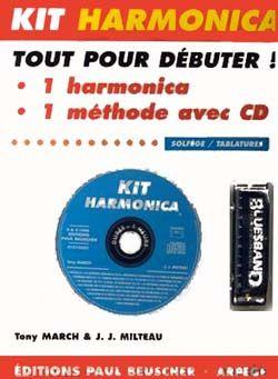 Milteau, J-J: CD a l'Harmonica blues - Kit