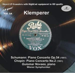 LP Pure, Vol. 32: Klemperer Conducts Schumann & Chopin (Historical Recordings)