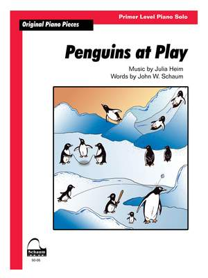 Penguins At Play