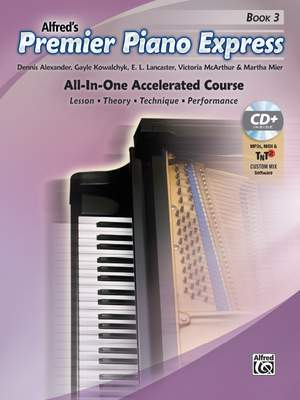 Premier Piano Express, Book 3