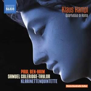 Coleridge-Taylor & Ben-Haim: Clarinet Quintets