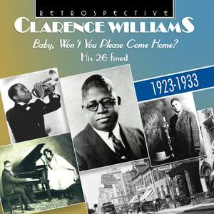 Clarence Williams: Baby, Won't You Please Come Home? Product Image