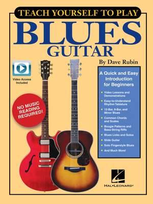 Dave Rubin: Teach Yourself to Play Blues Guitar