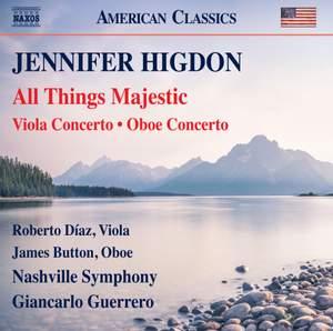 Jennifer Higdon: All Things Majestic