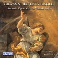 Giovanni Battista Fasolo: Annuale opera ottava, Venezia 1645