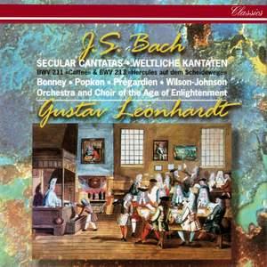 J.S. Bach: Secular Cantatas Nos. 211 'Coffee' & 213