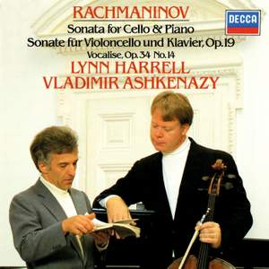 Rachmaninov: Cello Sonata and other works