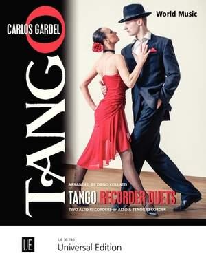 Gardel C: Tango Recorder Duets