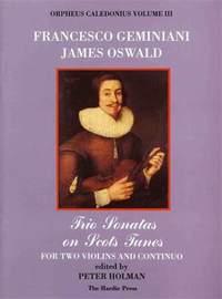 James Oswald: Orpheus Caledonius Volume III