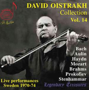Oistrakh Collection, Vol. 14: Live from Sweden