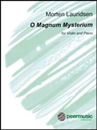 O Magnum Mysterium (violin and piano)
