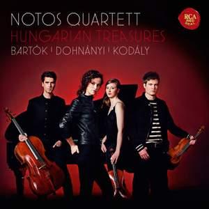 Hungarian Treasures: Notos Quartett